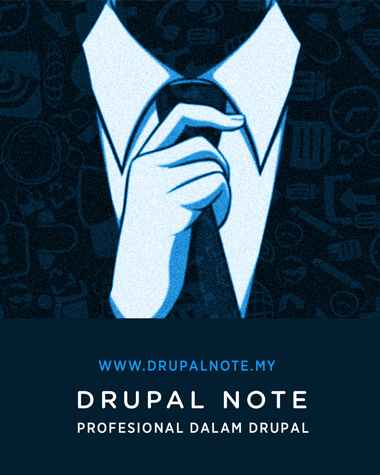 Drupal Note Malaysia badge
