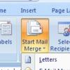 """Artikel bebas-""""Mail Merge"""" Untuk Microsoft Word 2007"""